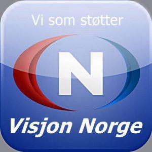 Støtter Visjon Norge